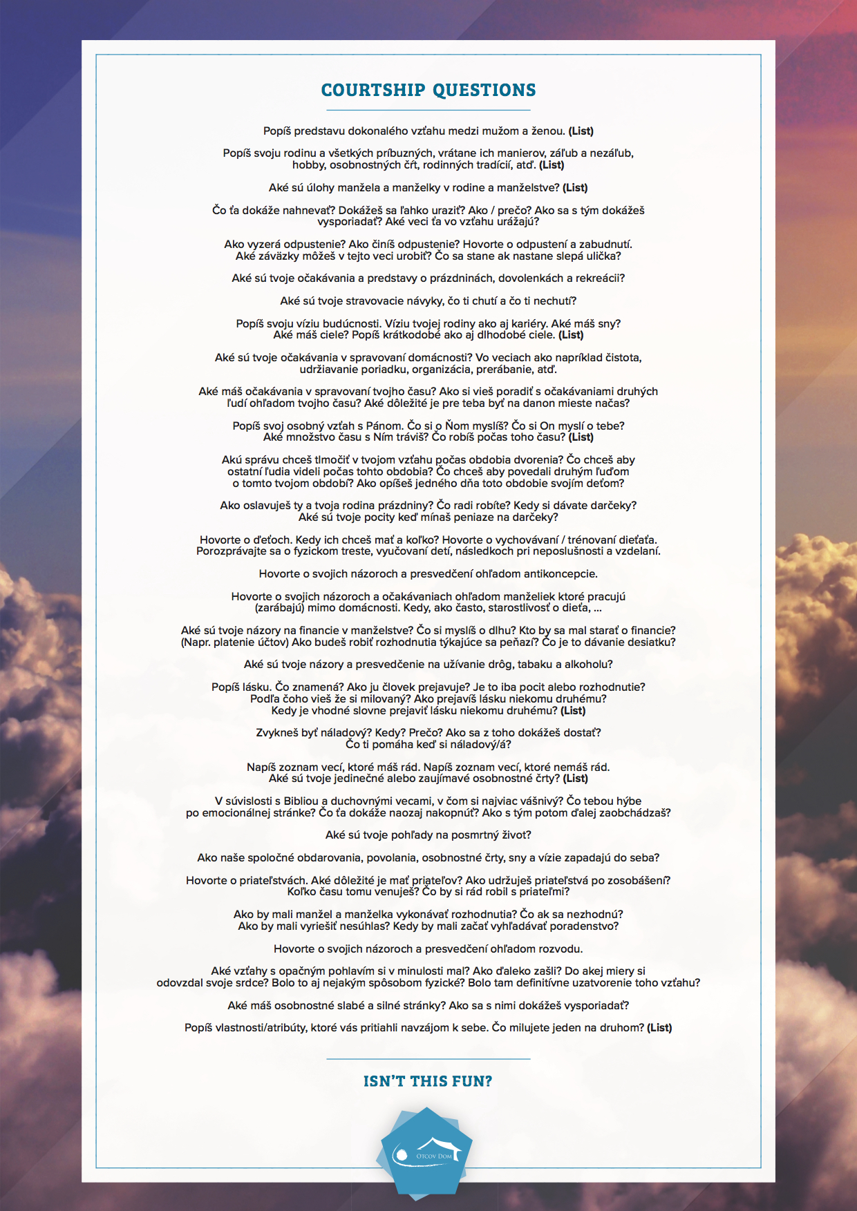 Jim_Anderson_Courtship Questions A4_Part1